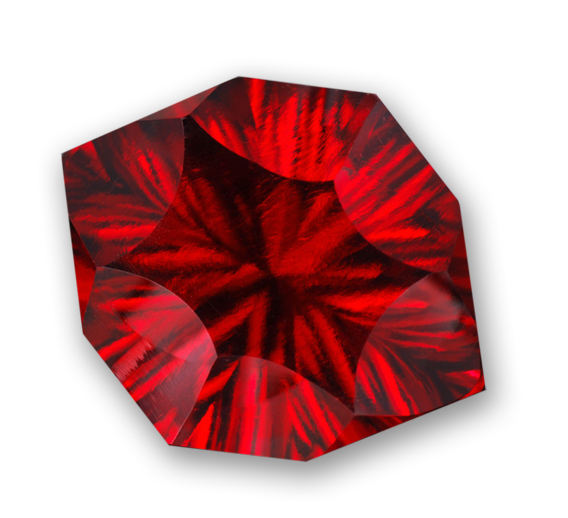 Bixbite (Red Beryl) Gemstone